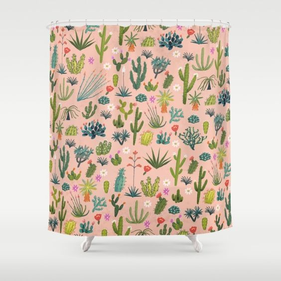 Arizona Cacti Shower Curtain