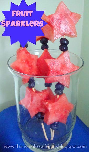 The NY Melrose Family: Fruit Sparklers