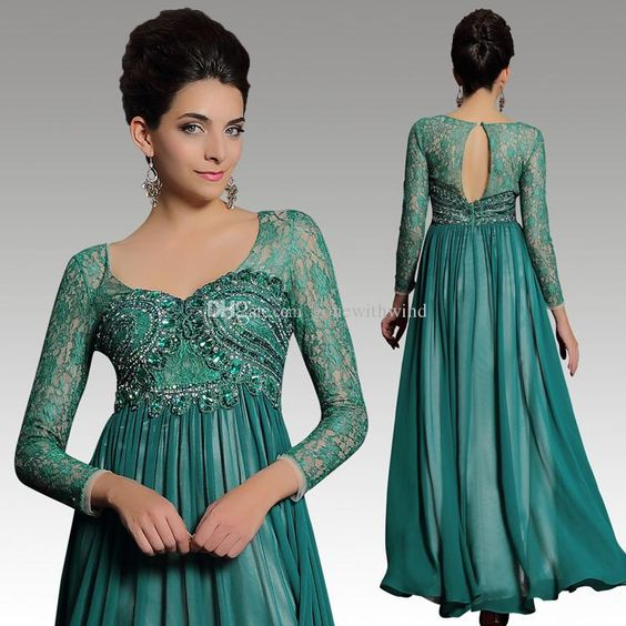 Mother off bride dresses plus size long sleeves sweethart ruffled ...