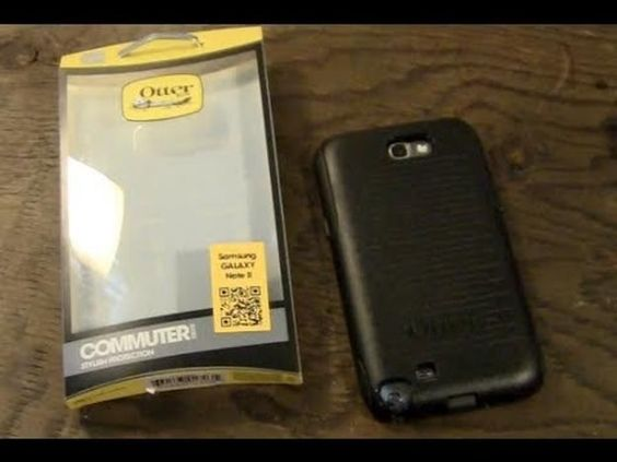 OtterBox Commuter Series Case for Samsung Galaxy Note II with Screen Protector #OtterBox