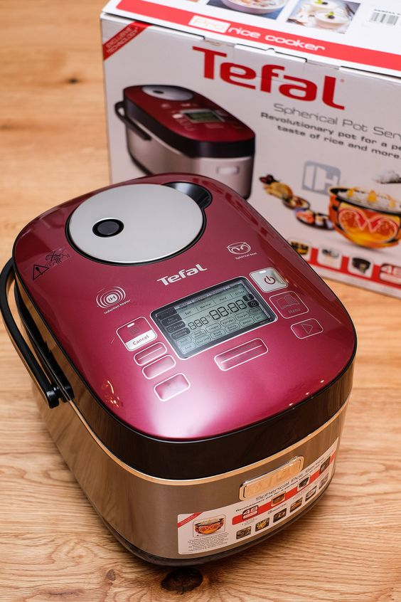 Prepare easy christmas meal by Tefal rice cooker