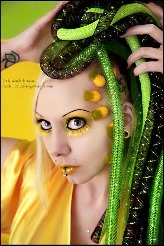 Countess Grotesque Cyber Goth Model