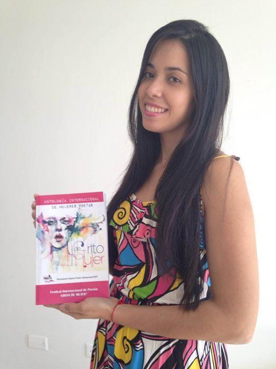 """Berenice Pacheco-Salazar en República Dominicana nos dice: """"Muy feliz de que mi poesía sea parte de la antología internacional """"Grito de Mujer"""": Buscarme en la página 356"""".  Y tú, tienes la tuya? http://www.gritodemujer.com/p/antologia-grito-de-mujer.html  #AntologiaGritodeMujer"""