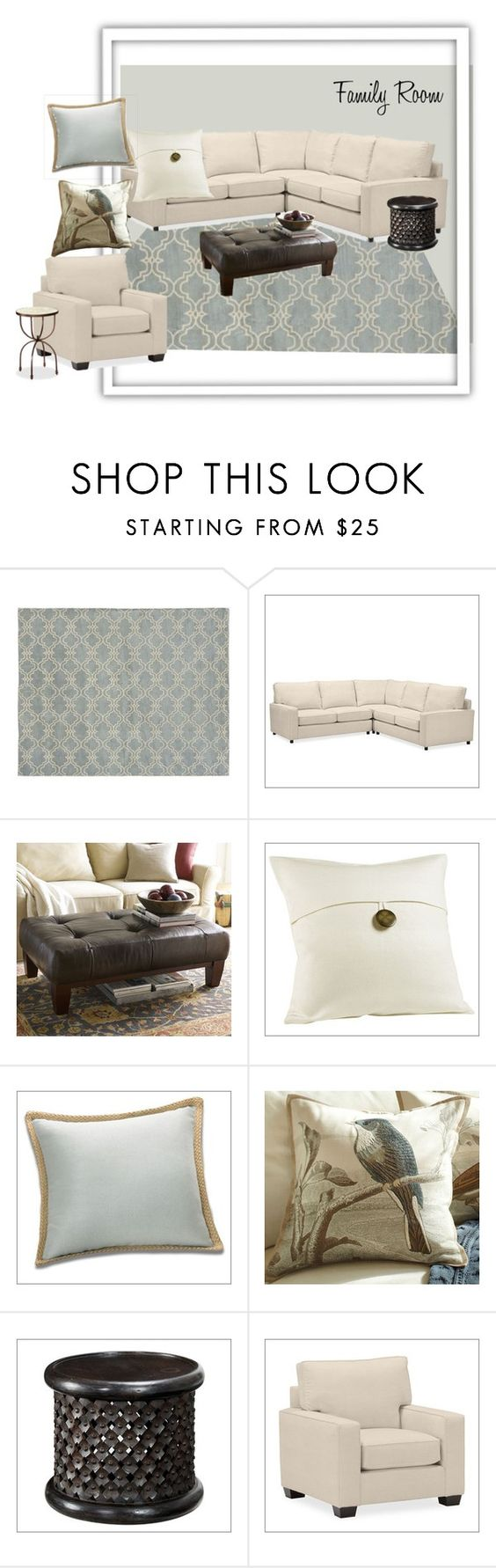 """marni family room"" by pbdesignrose ❤ liked on Polyvore featuring interior, interiors, interior design, home, home decor, interior decorating, Benjamin Moore and Pottery Barn"
