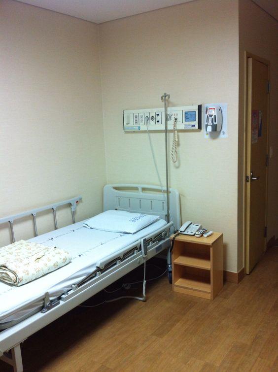 병원의 마지막날.