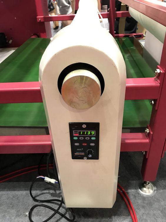 máquina rotatoria de la prensa del calor