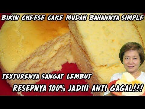 Resep Cheese Cake 10% Jadi Anti Gagal!!! Texturenya Sangat Lembut