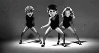 My collection of Harry Potter dance gifs. - Imgur