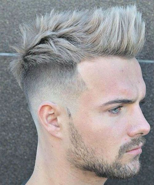 37 Of The Featured Spiked Haircut Styles For Men For 2019 Messy Hairstyle Thick Hair Styles Hairstyles Haircuts Stylish Hair
