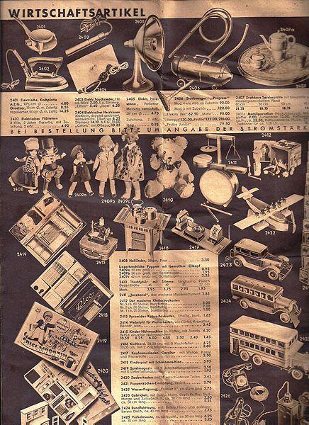 File:Kaufhaus ISRAEL Berlin, Versandhauskatalog S.24 von  1932.(Koenigstrasse und Spandauerstrasse)