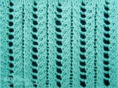 Adding Knit Stitches End Row : Ribs, Stitches and Lace on Pinterest