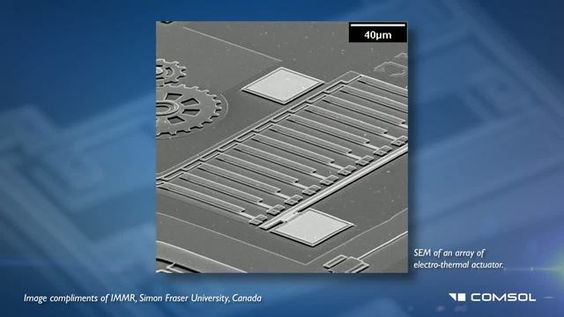 MEMS Software - For Microelectromechanical Systems Simulation