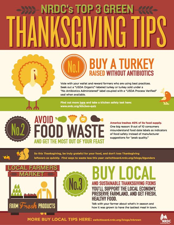 Great green Thanksgiving tips. Have a wonderful and joyous holiday!