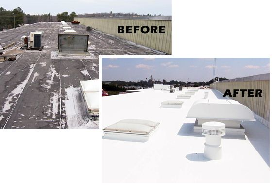 Do You Want To Have Some Added Protection On Your Roof If You Have A Flat Or A Low Sloped Roof For Your Home Or You Roof Repair Mobile Home Roof Liquid