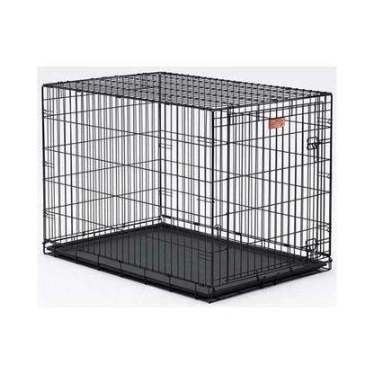 "Midwest Dog Single Door i-Crate Black 42"""" x 28"""" x 30"""""