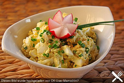 Eiersalat nach Oma Rosa (Rezept mit Bild) von Kaffeeluder | Chefkoch.de