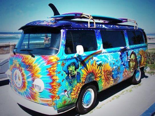 VW Campervan Peace