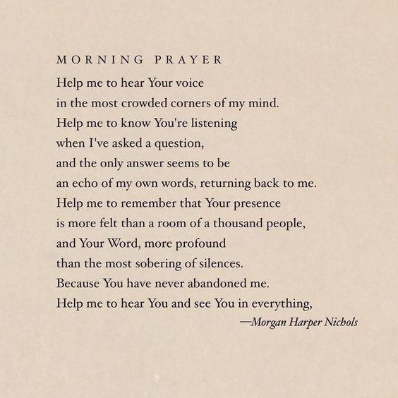 morning prayer // daily devotionals // daily christian prayer