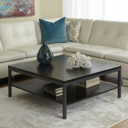 Pin By Z Coffee Tables On Square Pinterest Table With Shelf And