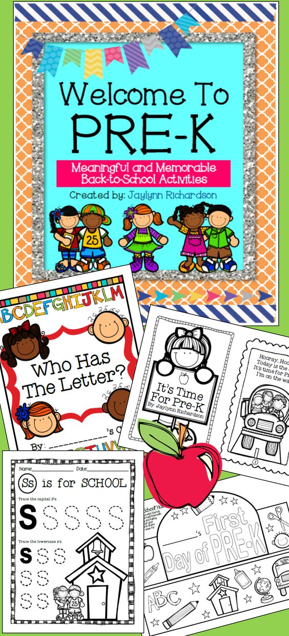 Welcome Pre-K students with these easy-to-use, fun, and memorable activities and materials! As a veteran Pre-K teacher, I've created this packet with my best ideas and favorite activities in mind, and I'm so excited to share them with you!