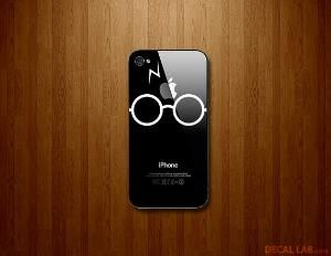 Harry Potter iphone decal by DecalLab