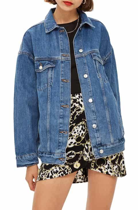 Reduce Topshop Oversized Denim Jacket Oversized Denim Jacket Denim Jacket Jacket Outfits