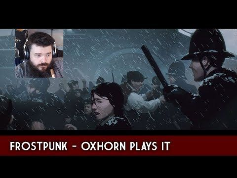 Surprise Sunday Live Stream Oxhorn Plays Frostpunk Fictional Characters Play Character