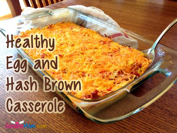 egg cheese hash brown casserole