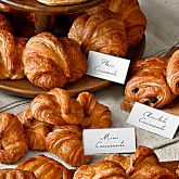 Williams Sonoma Croissants, so light buttery and flaky.