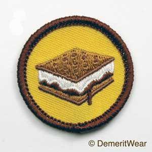 S'mores Merit Badge