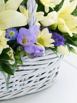 Baby Boy Flower Arrangements | rollover to zoom compare