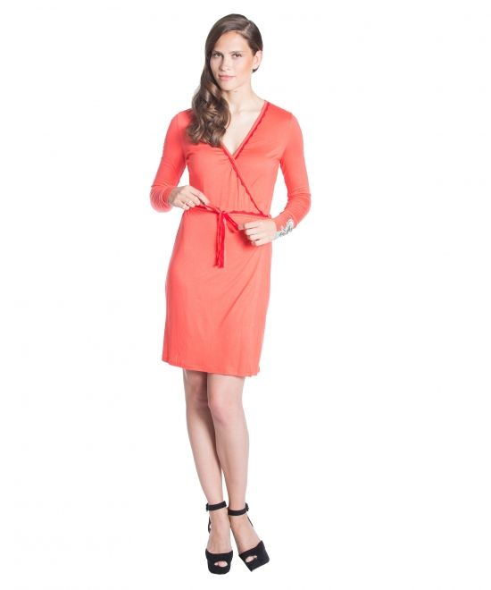 Blutsgeschwister | night and day cardirobe red whip coral | M