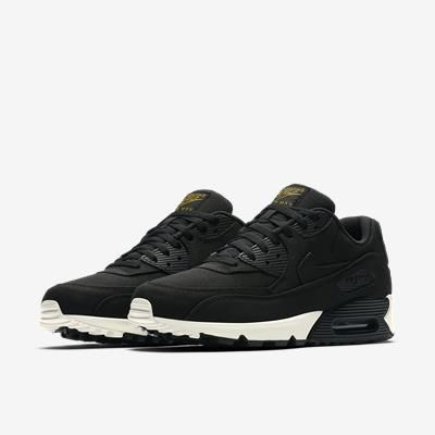 nike air max 90 essential preto e branco