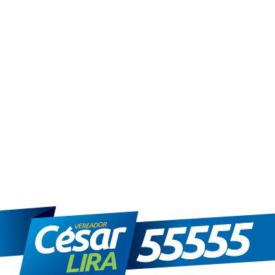 César Lira é 55555