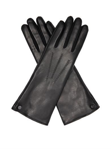 Fur-lined lamb leather gloves | Agnelle | MATCHESFASHION.COM
