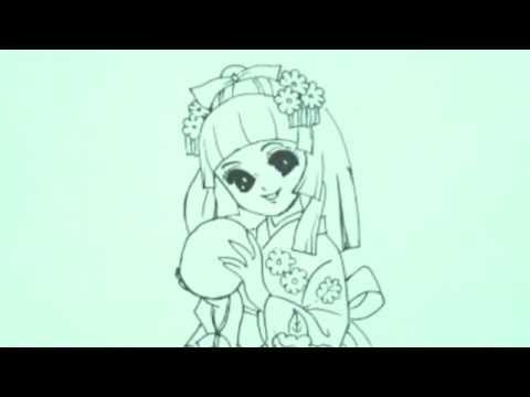 تعليم الرسم رسم بنات سهل جدا رسومات سهله وحلوه رسم بنت كورية سهلة Youtube Female Sketch Art Humanoid Sketch