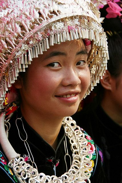 Miao minority - China   by freelife via Flickr  #world_cultures