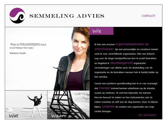 Eigen Veren - Website ontwerp, webdesign voor Semmeling advies
