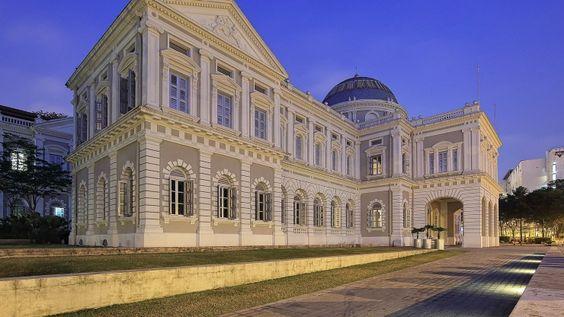 Bảo tàng quốc gia Singapore được xây dựng năm 1887
