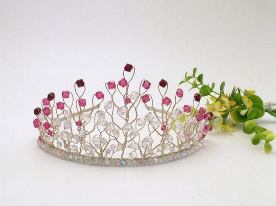 handmade tiara: