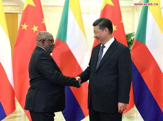 La Chine octroie aux Comores un don de  6,3 milliards de francs comoriens