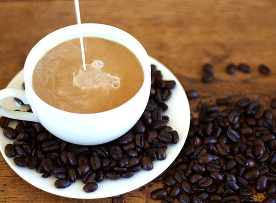 Homemade Coffee Creamer.  Includes recipes for Pumpkin Spice, French Vanilla, Peppermint Mocha, and others.