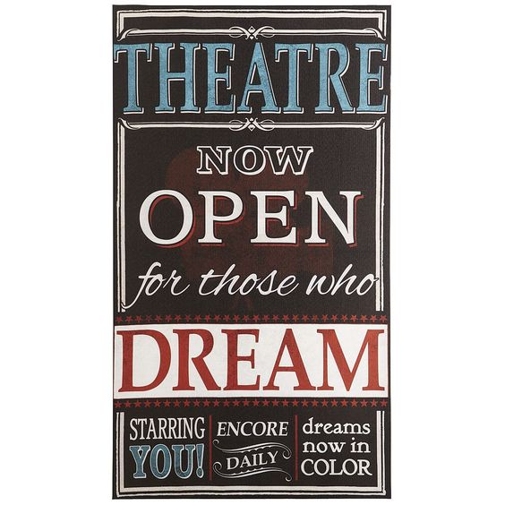 Theater Quotes: I Am Such A Dork, But I Would Love This For My Classroom