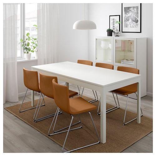 Tavolo Da Esterno Allungabile Ikea.Ekedalen Tavolo Allungabile Bianco Scopri I Dettagli Del
