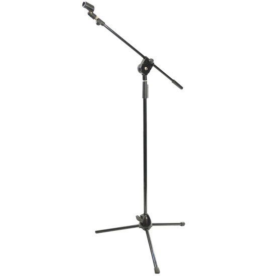 Tripod Microphone Stand W/ Extending Boom