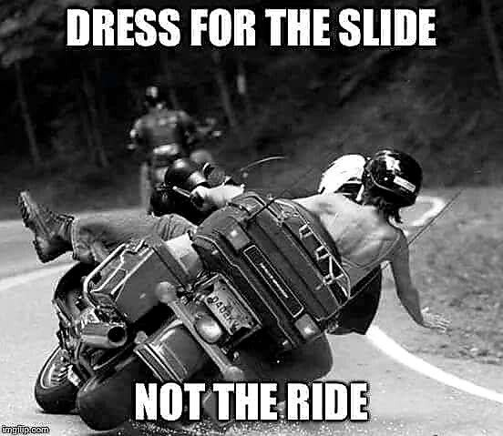 Avoid Road Rash And A Head Bash If You Re Smart Enough To Not