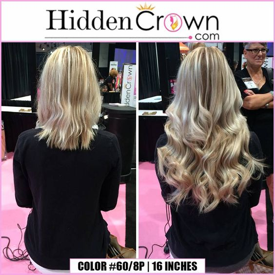 So. Much. Hair.  Like this if you love Hidden Crown Hair Extensions!