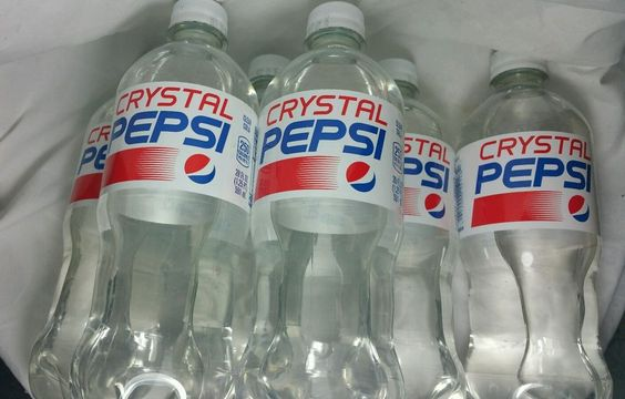 Lot 6 Crystal Pepsi 20 oz New 2016 Release Exp.10/31/16 Six Pack Bottles RARE