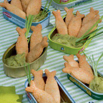Des sablés au guacamole / Shortbread cookies and guacamole