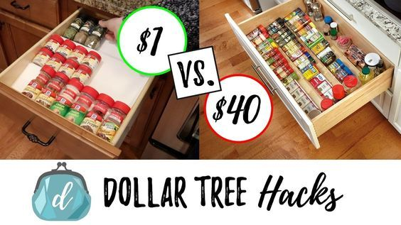 It S A Kitchen Organization Video I Will Have Lots More Hack Videos To Come That Help Save Your Family Dollar Tree Kitchen Dollar Tree Hacks Diy Spice Rack